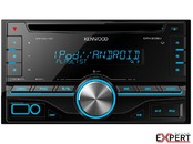 Radio CD 2DIN Auto Kenwood DPX-206U