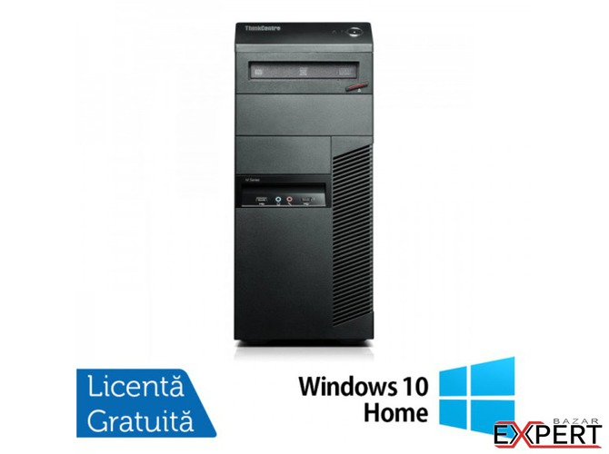 Calculator LENOVO Thinkcentre M91p MT, Intel Core i5-2400 3.1 GHz, 4GB DDR3, 250GB SATA, DVD-RW + Wi