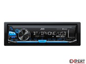 RADIO USB CU BLUETOOTH JVC KD-X341BT