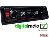 Radio CD auto Kenwood  KDC-DAB400U