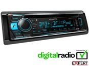 Radio CD  cu USB,AUX,Bluetooth KENWOOD KDC-BT710DAB