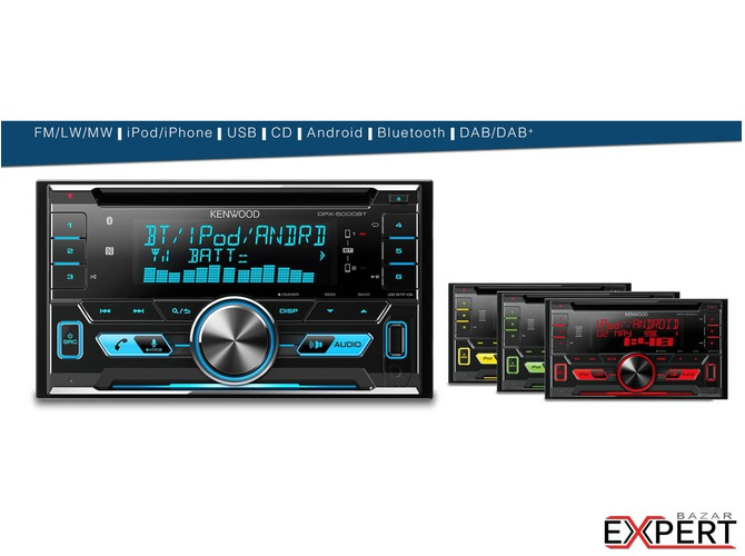 Radio CD /USB si Bluetooth KENWOOD DPX-5000BT