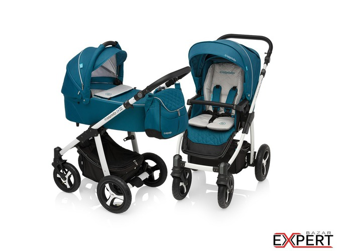 Carucior Multifunctional 2in1  Lupo Comfort Turquoise 2017