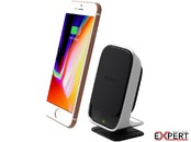 Suport magnetic iOttie iTap Qi Wireless Fast Charging Negru