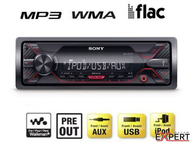 MP3 player auto Sony DSX-A210UI