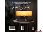Boxa Bluetooth cu Lampa LED si Incarcare Wireless Qi 4smarts Station Smart-Bonsai-QI B7 Negru