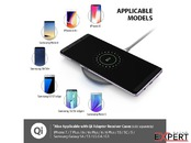Incarcator Universal Inductie Ringke Wireless Fast Charger 9V Grey