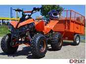 Vand ATV 125cc NITRO Warrior Semiautomatik, Import Germania