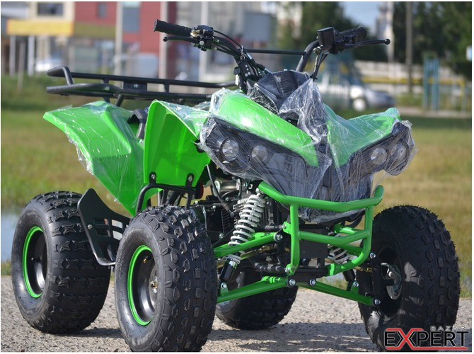Vand ATV 125cc ADLY Warrior Semiautomatik, Import Germania