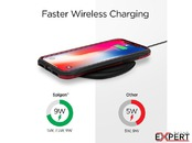 Incarcator Universal Inductie Waterproof Spigen F305W Wireless Fast Charger 9W QC 3.0 Negru
