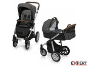 Carucior 2 in 1 Dotty 10 Black 201