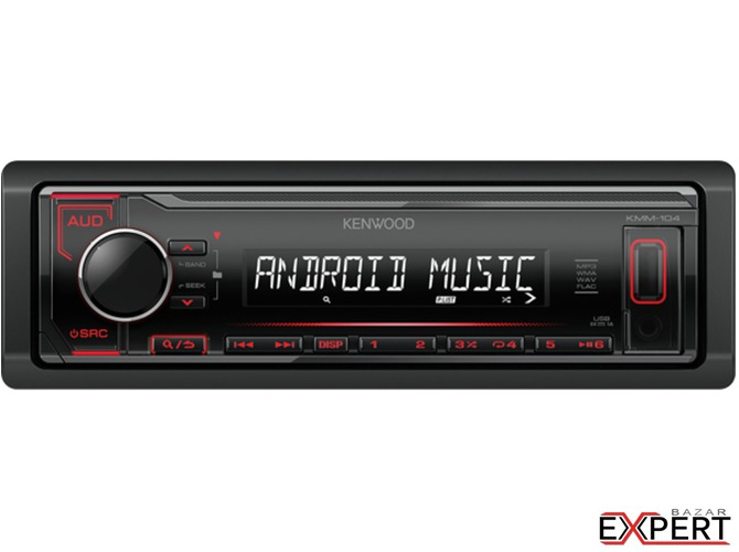 Radio USB Kenwood KMM-104RY