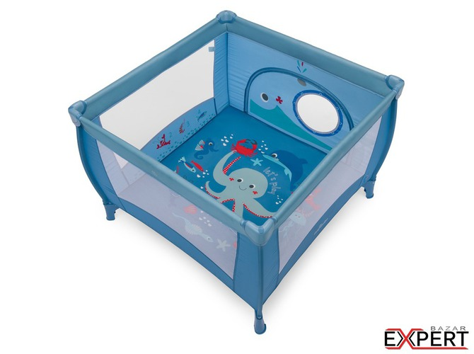 Baby Design Play 03 blue 2018 - Tarc de joaca