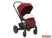 Carucior multifunctional Chrome Deluxe Cranberry 2 in 1 - Limited Edition