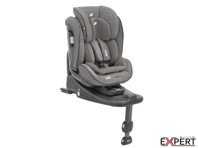Scaun auto Stages Isofix Foggy Gray, 0-25 kg