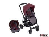 Carucior Graco Evo 2 in 1 TS Crimson