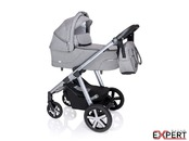 Carucior multifunctional + Winter Pack Baby Design Husky 2020 - Gray